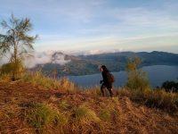 Mendaki Puncak Bukit Trunyan Kintamani
