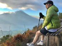 Suhu Udara di Puncak Gunung Batur